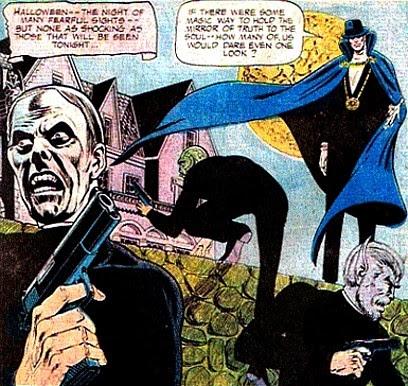 Phantom Stranger #32, a ghoulish raid