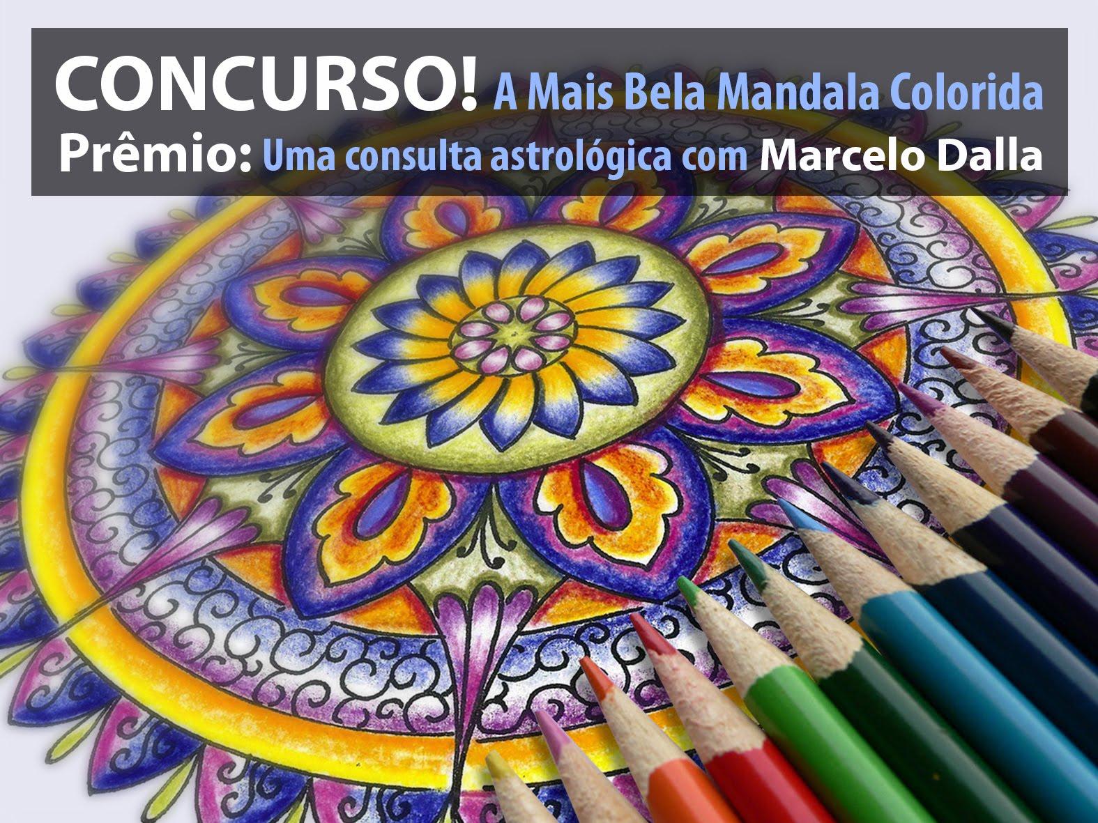 CONCURSO DE COLORIR MANDALAS