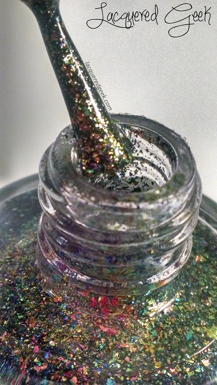Lucky 13 Lacquer Aurora Borealis nail polish swatch