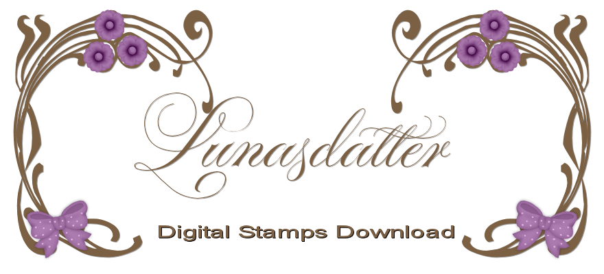 Lunasdatter digitalStamps