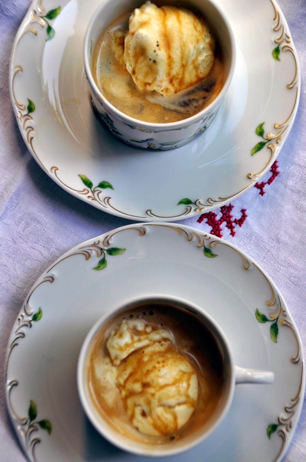 Szybko Tanio Smacznie - Espresso z lodami waniliowymi