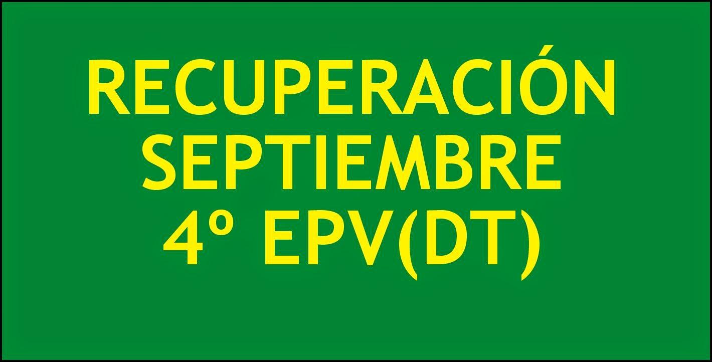 Haz click para 4º EPV(DT)