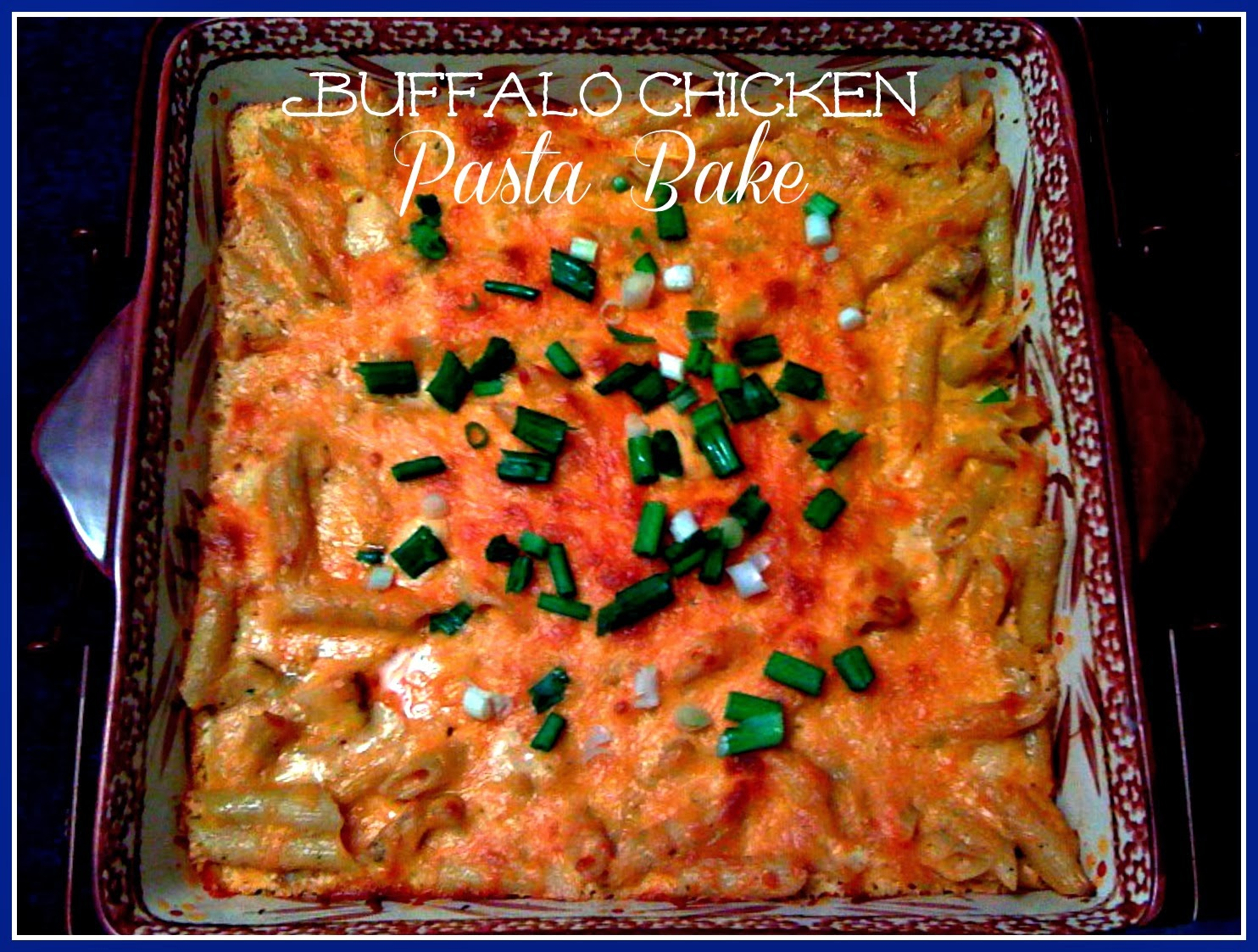 how to cook buffalo chicken dip in the oven