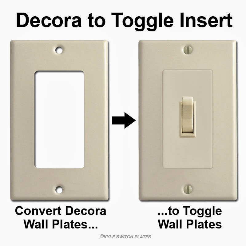 decora to toggle insert