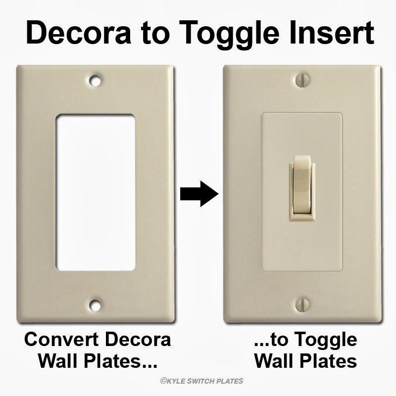 decora to toggle insert