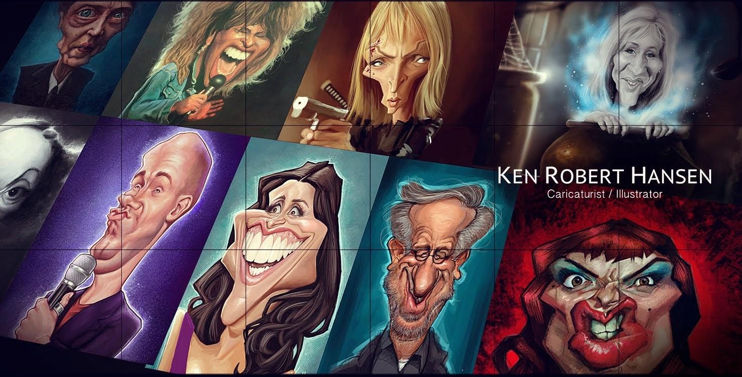 Ken's Caricatures