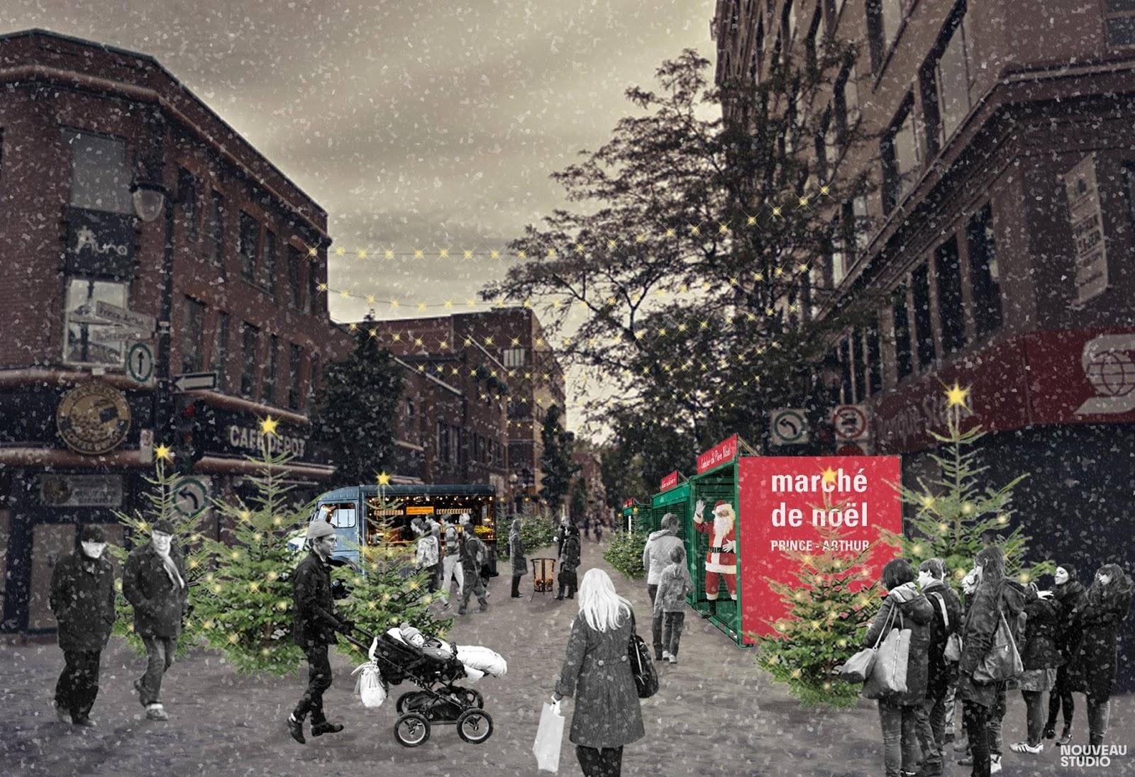 marché de noel montreal 2018 prince arthur Quoi faire en décembre à Montréal   Notre Montréalité marché de noel montreal 2018 prince arthur