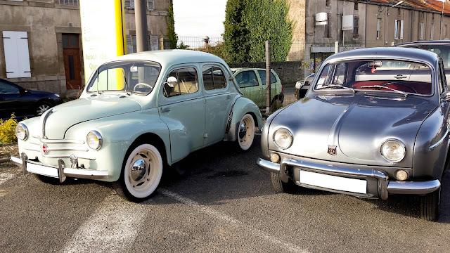 Renault 4CV et dauphine