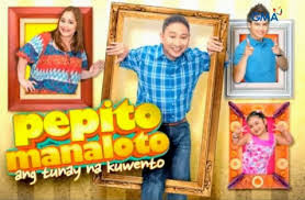 "Pepito Manaloto December 31 2016 SHOW DESCRIPTION: Dubbed as a reality-sitcom, the show features (Michael V.), together with his family Elsa (Manilyn Reynes) and Chito (Joshua Pineda), whose ""simple and […]"