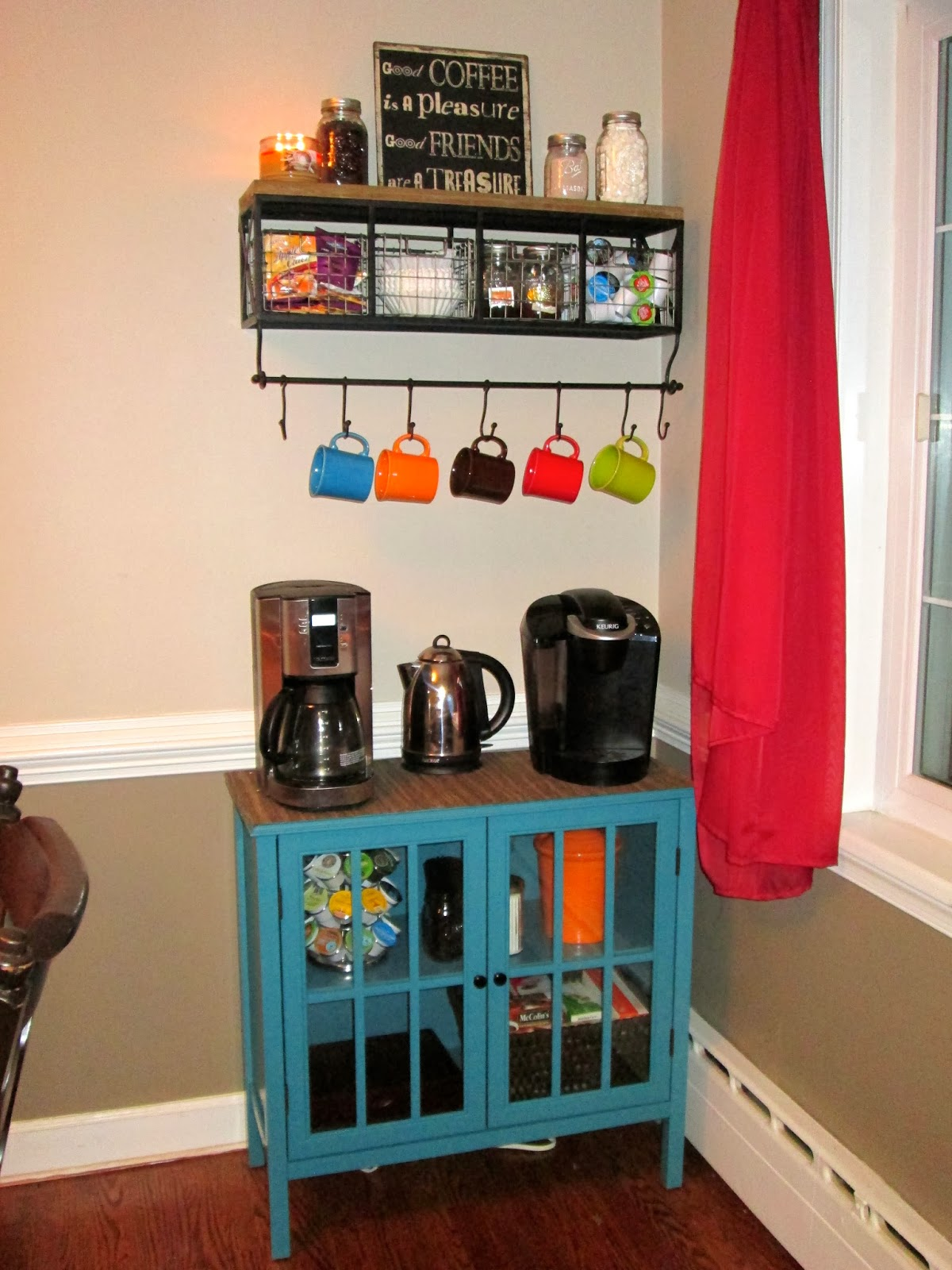 laura 39 s plans make your own coffee bar. Black Bedroom Furniture Sets. Home Design Ideas