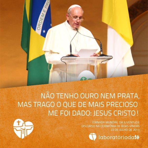 Jornada Mundial da Juventude, Rio de Janeiro, Brasil, 22 de julho de 2013