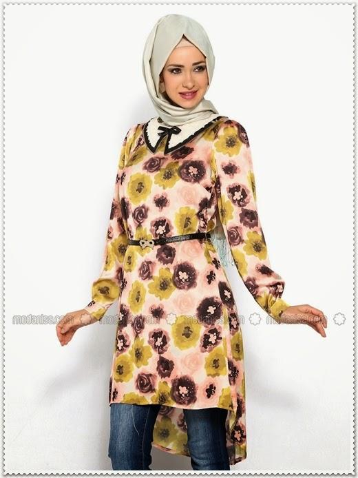 Milaj Giyim Bayramlık Tesettür Tunik Modelleri