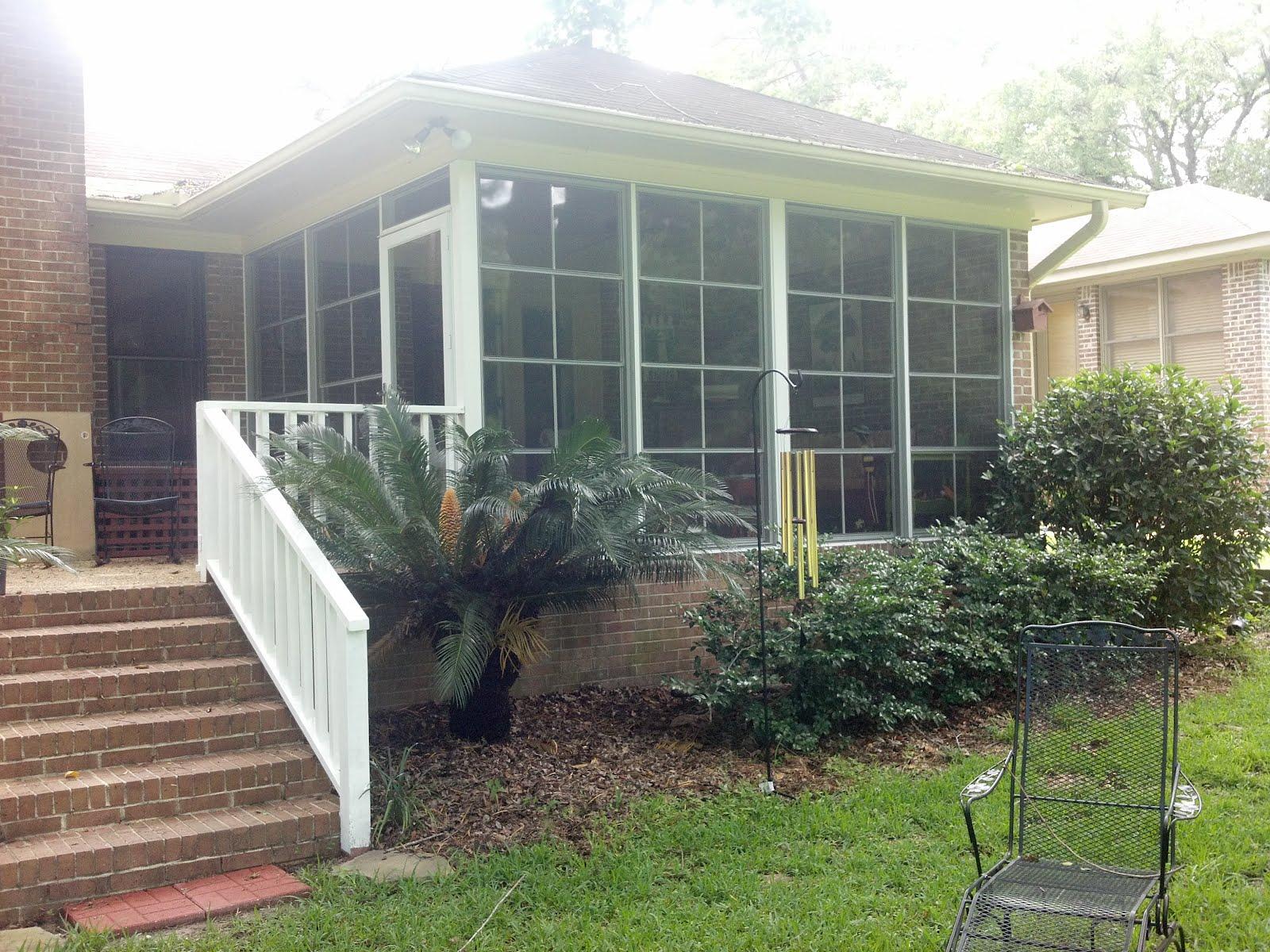 screen rooms tallahassee vinyl pane patio enclosure in