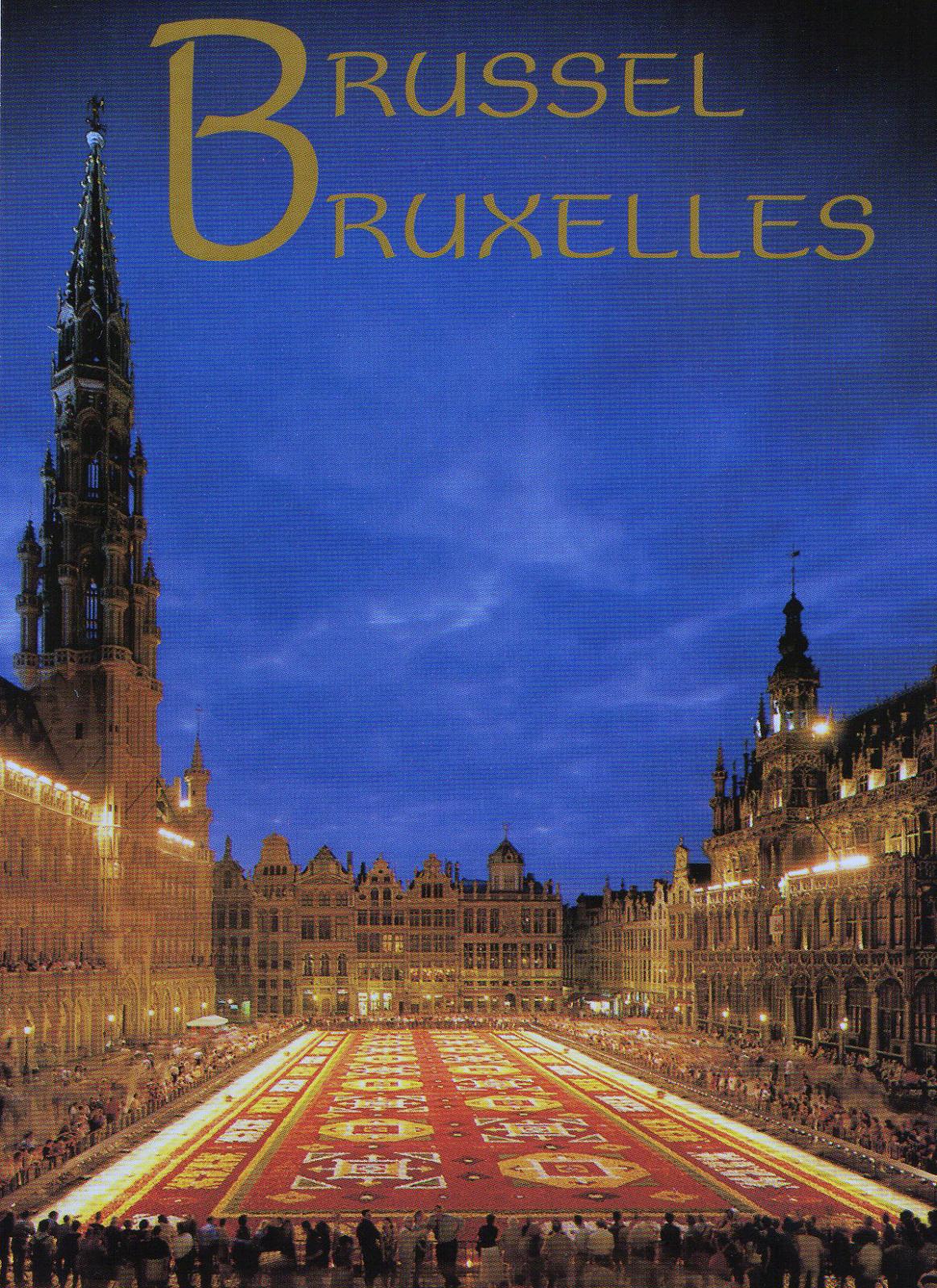 Pocztówka Bruksela