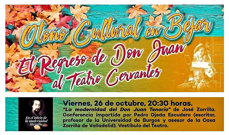 Conferencia sobre La modernidad del Don Juan Tenorio de José Zorrilla