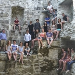 The Choir of GOnville and Caius College, Cambridge in the ruins of Muckross Abbey, Ireland