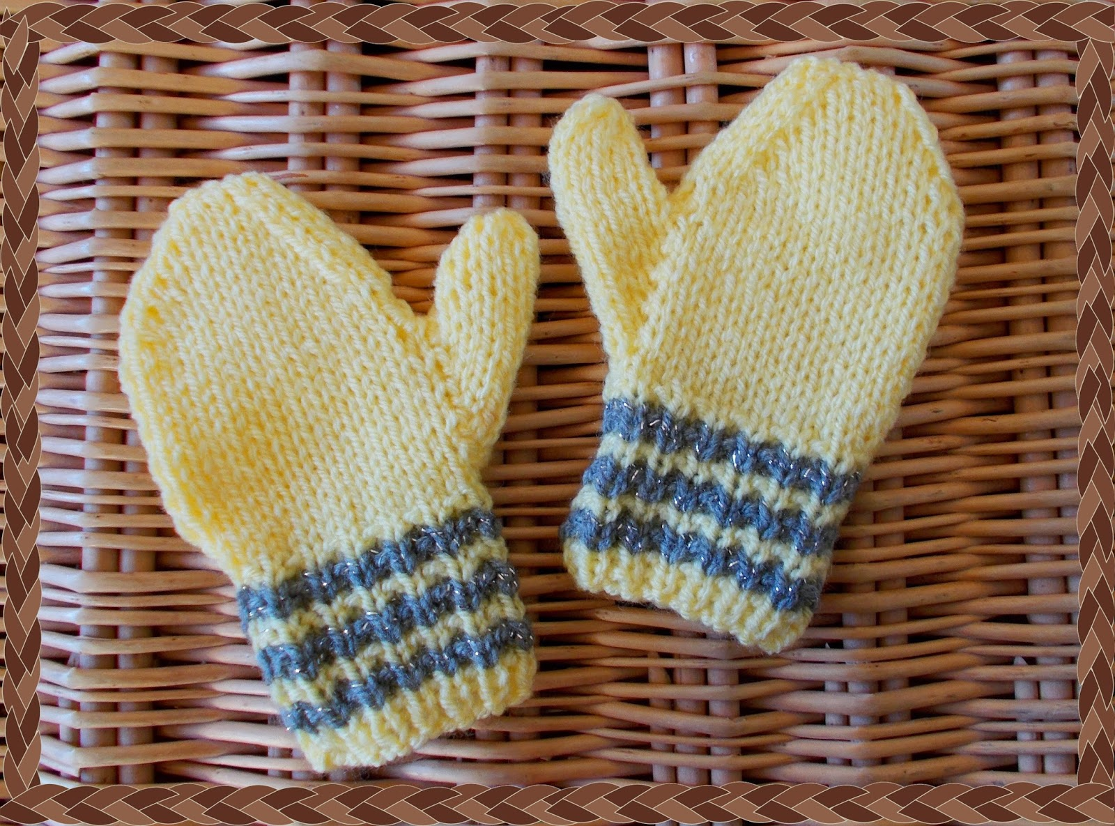 Easy Baby Mittens Knitting Pattern : mariannas lazy daisy days: Toddler Mittens