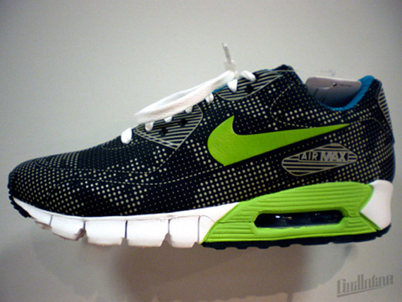 nike air max 90 current moire sample