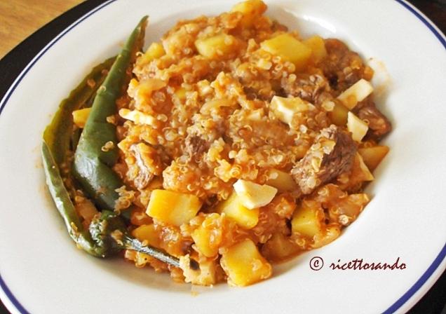 Peschè: ricetta tradizionale di un piatto unico peruviano a base di quinoa