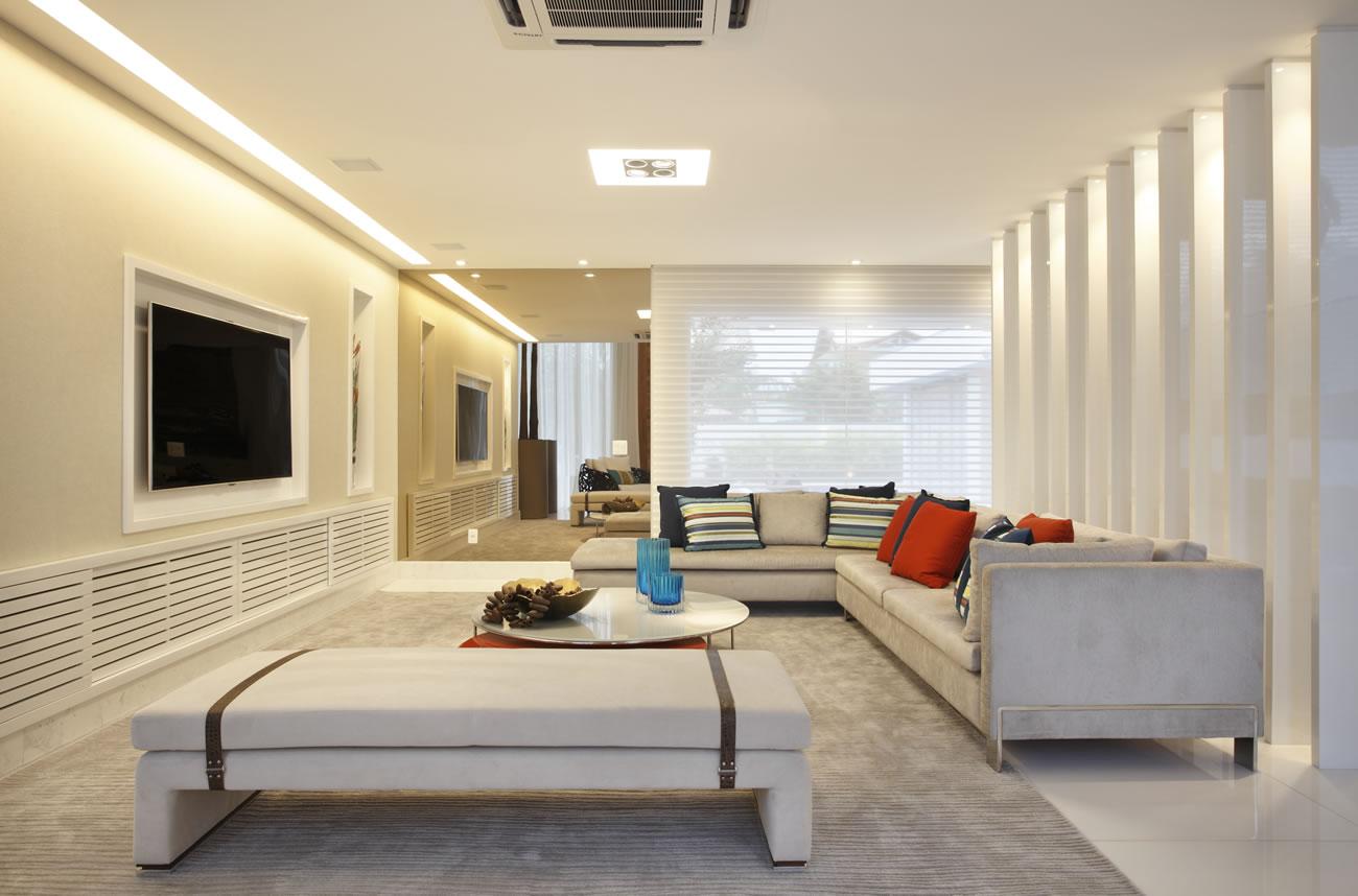 Construindo minha casa clean 35 fachadas de casas for Casa minimalista grande