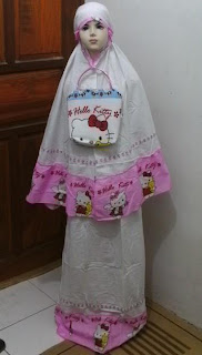 Mukena Anak KITTY-01 Pink