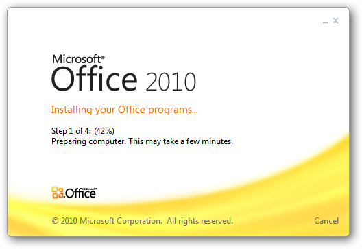 Hướng dẫn tạo Microsoft Office 2010 Starter Portable