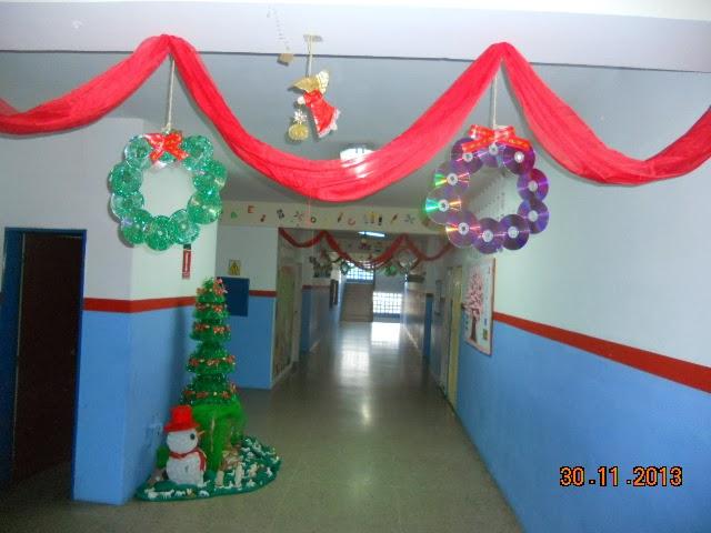 Ambientacion de aulas en reciclaje imagui for Ambientacion para navidad