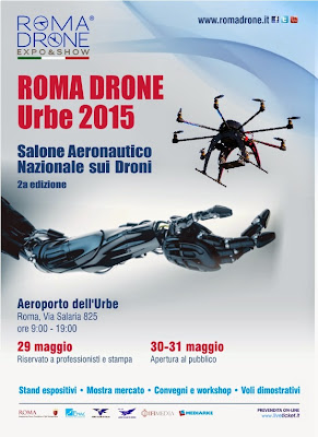 """Roma Drone Expo&Show 2015"""