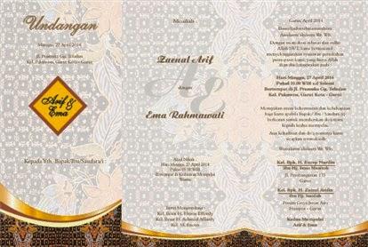 Kata kata undangan pernikahan: kata kata undangan pernikahan islami