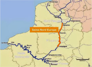 canal Seine Nord Europe - Green Supply Chain