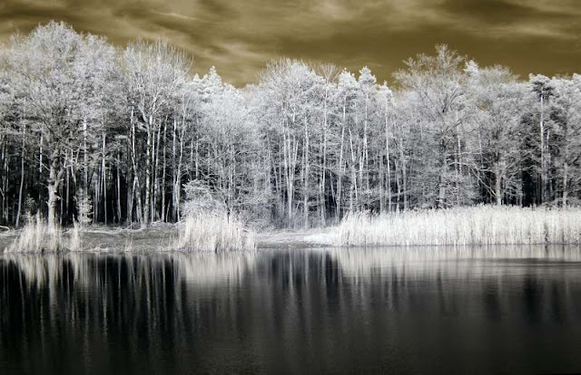 water infrared photography