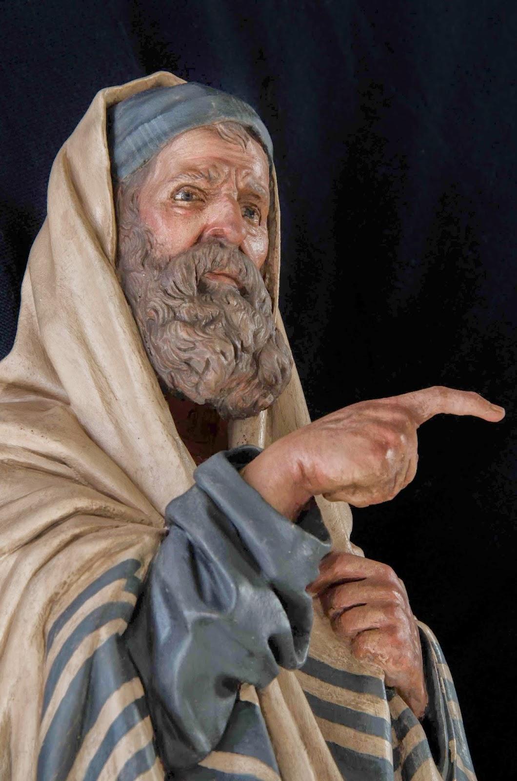 Belén presepe nativity Arturo Serra escultura barro cocido 7