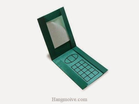 Cách gấp, xếp cái điện thoại bằng giấy origami - Video hướng dẫn xếp hình đồ thời trang - How to fold a Mobile
