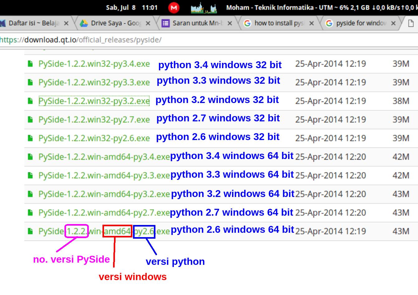 Cara Install Pyside Di Windows Dengan Mudah Belajar Python