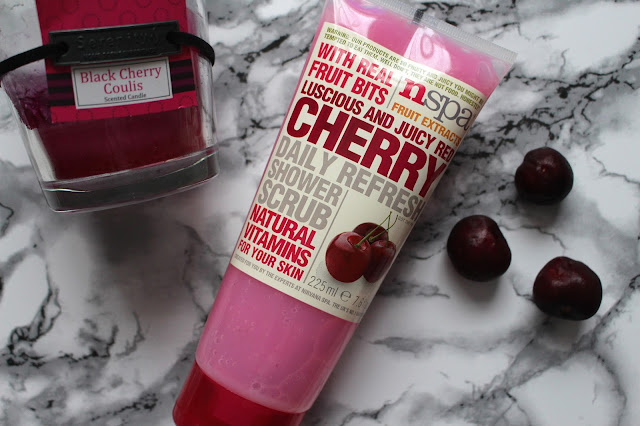 NSPA Fruit Extracts Cherry Scrub