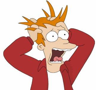 Futurama Fry Panic Attack Photo
