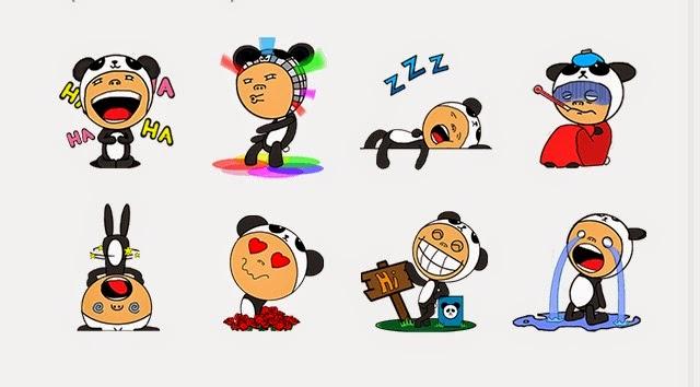 A Panda's Passion! animation sticker