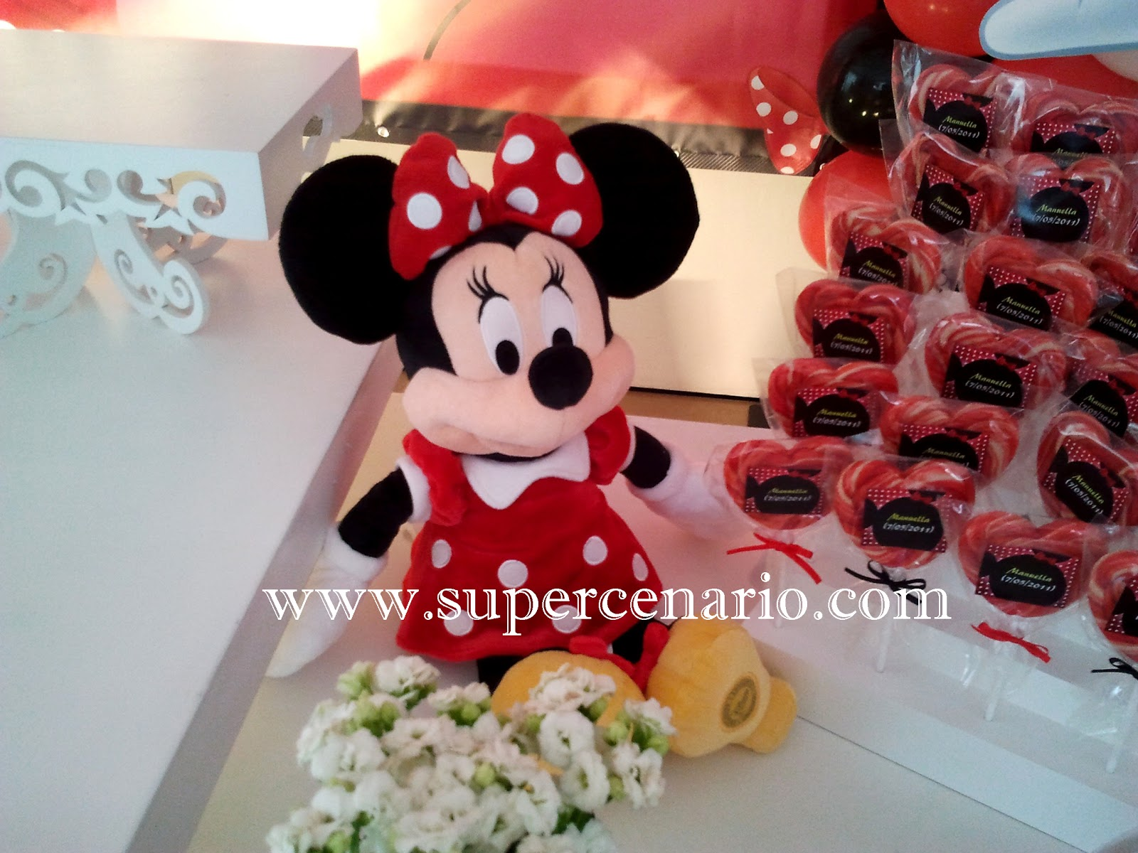 Boneca Original Minnie Na Decora    O Da Mesa
