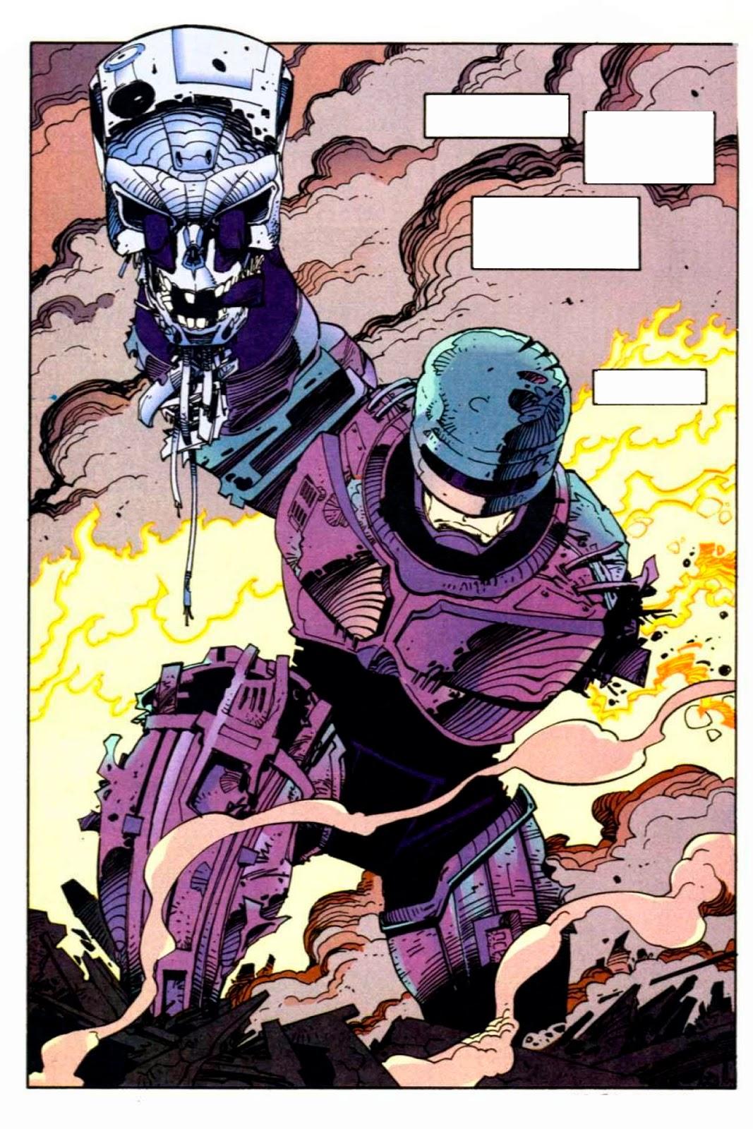 """Cómic: Reseña de """"Robocop Vs Terminator"""" [Aleta Ediciones]."""