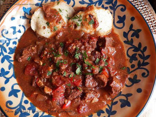 Comfy Cuisine: Slow-Cooker Hungarian Beef Goulash