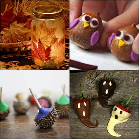 Autumn craft ideas autumn crafts picture for Fall ideas crafts