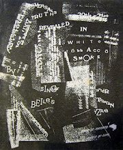 Universal Truths Revealed in White Tobacco Smoke, after Tristan Tzara