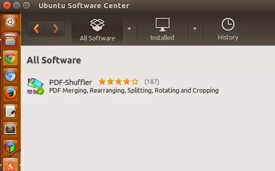 Potong Gabungkan File PDF di Ubuntu