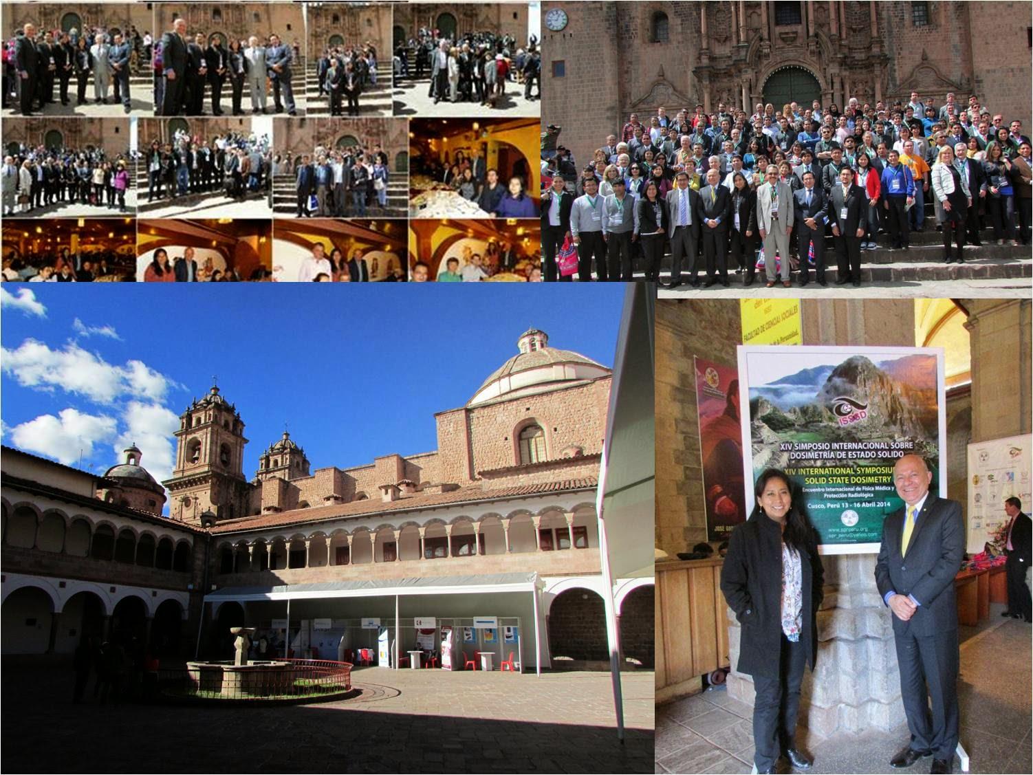 Fotos del XIV ISSSD Cusco 13-16 abril 2014