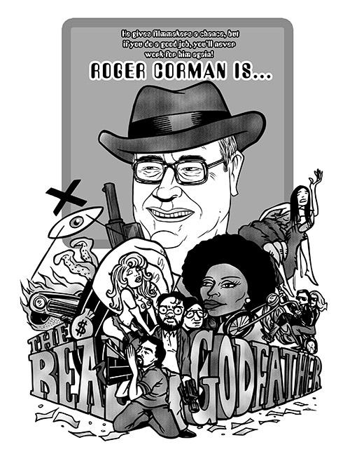 Roger Corman Poster