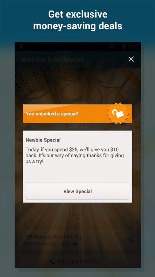 Foursquare Android Apk resimi 5