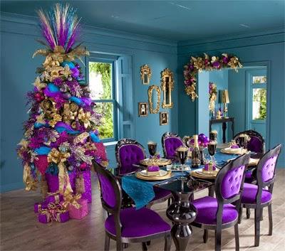 tendências na decoração de Natal 2013 2014