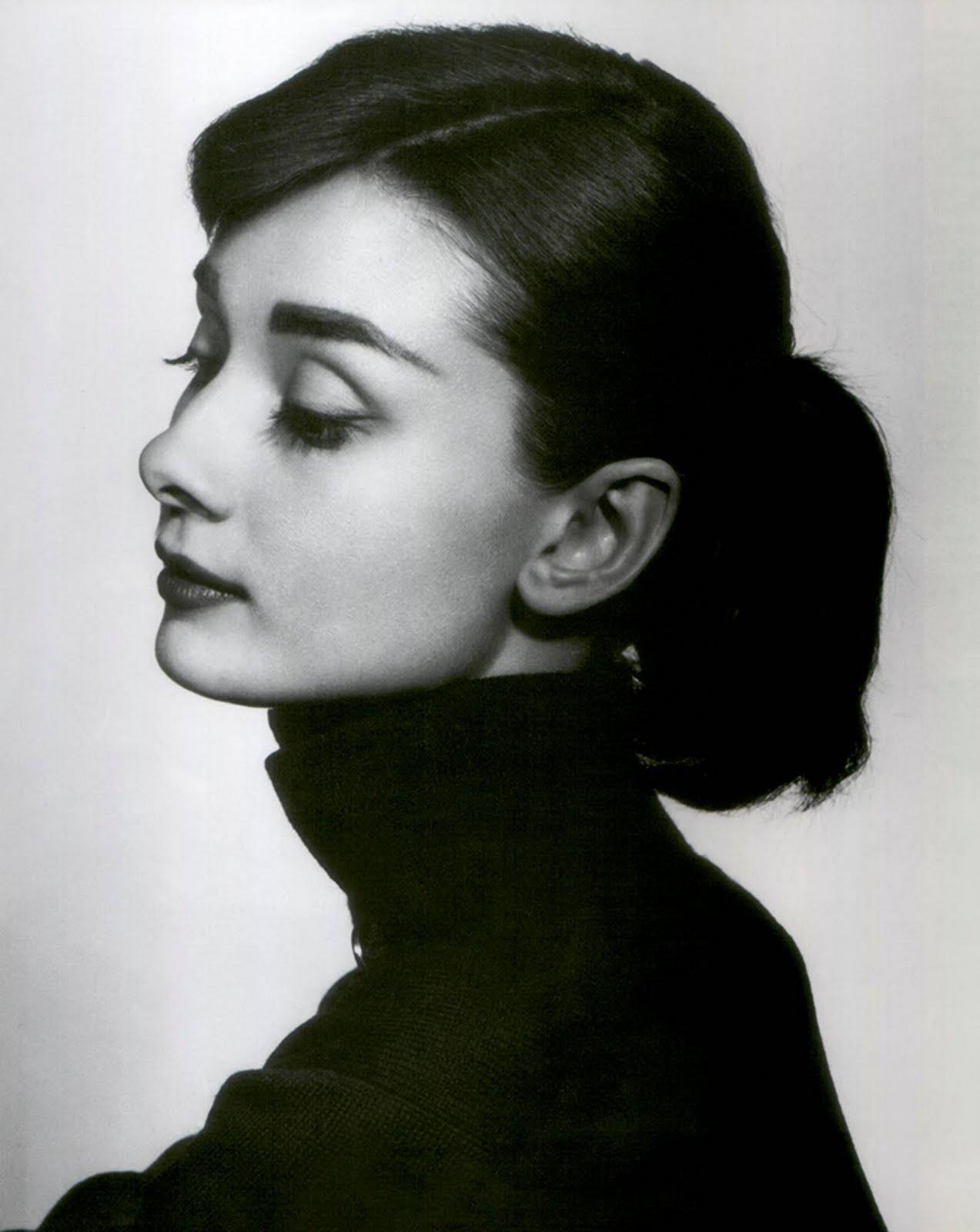 Influential Audrey Hepburn Thick Eyebrows