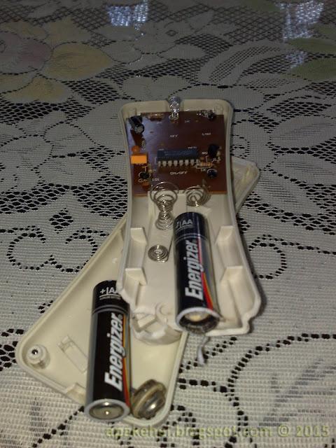 Remote kipas