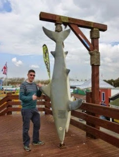 Sharksville Adventure Golf at Harbour Park in Littlehampton